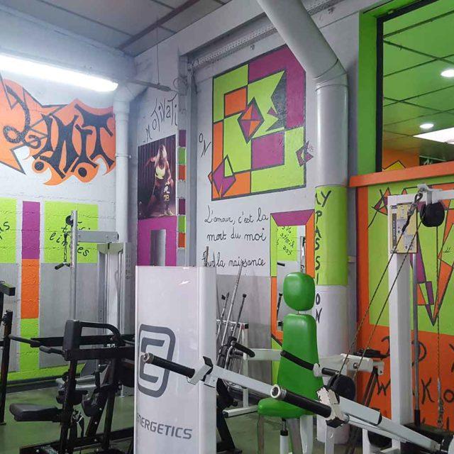 Espace muscu Tonic Fitness